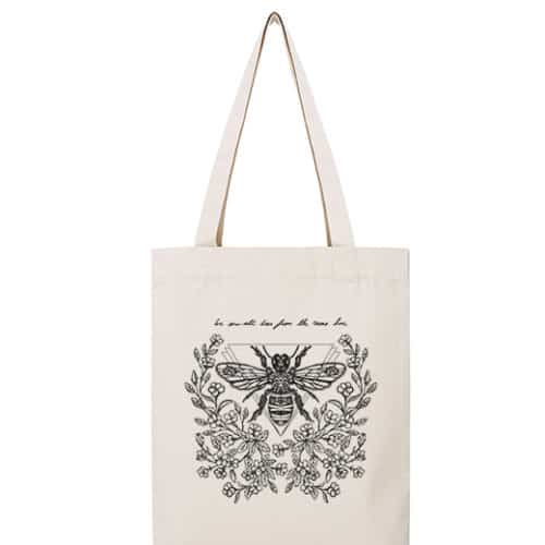 The Good Tee-claire de regge-Totebag---Bee