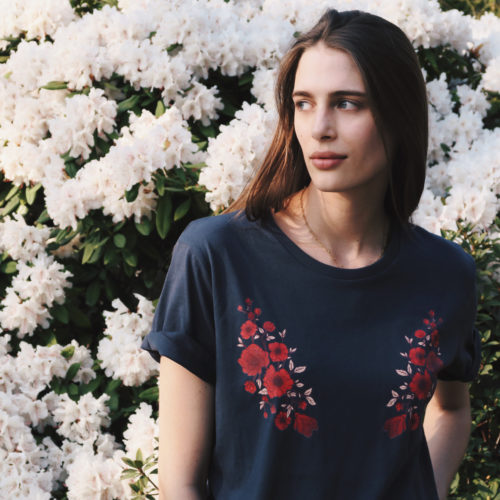 The Good Tee-claire de regge-poppy