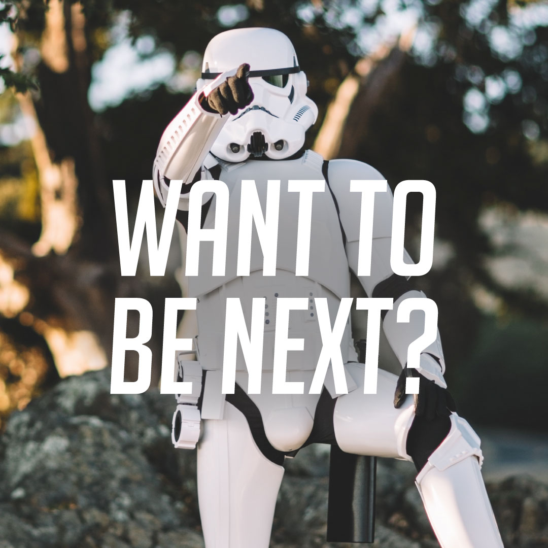 want to be next